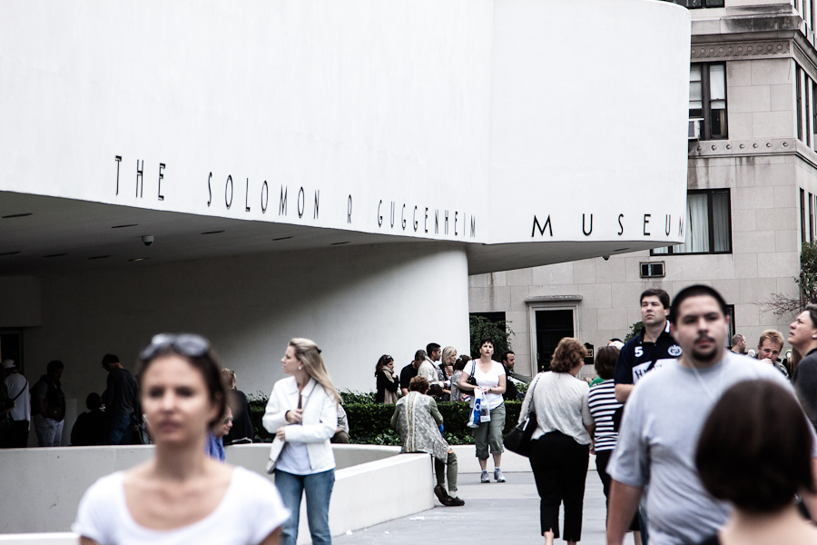 Solomon R Guggenheim Museum in New York