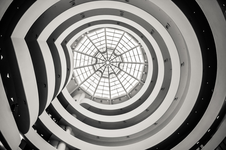 Solomon R Guggenheim Museum in New York